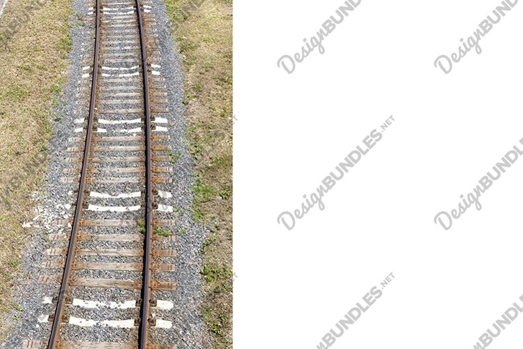 the railway goes on the ground example image 1