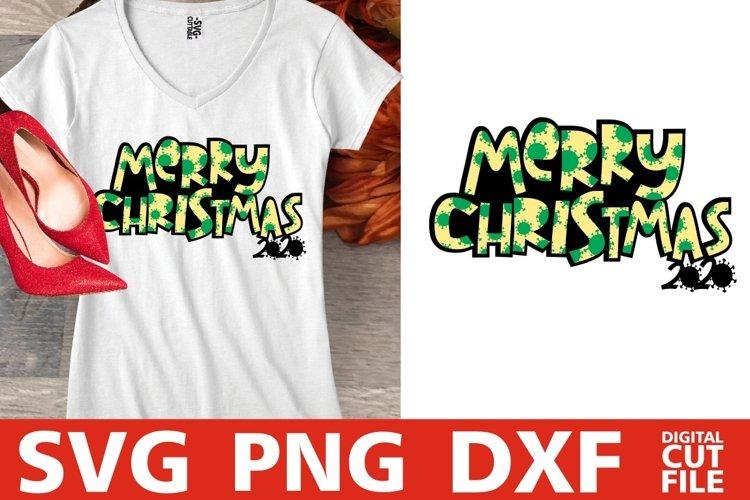 Merry Christmas 2020 svg, Santa Claus svg, Fall svg, Winter example image 1