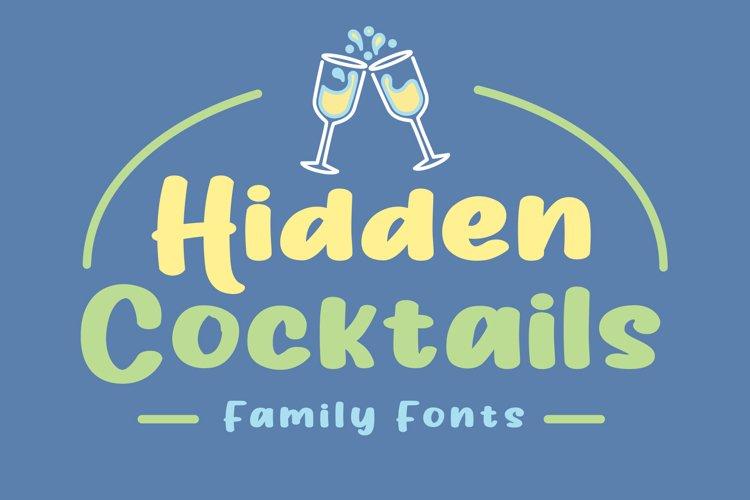 Hidden Cocktails Family