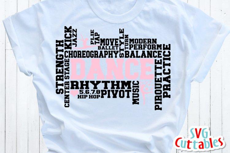 Dance SVG | Dance Word Art | Shirt Design