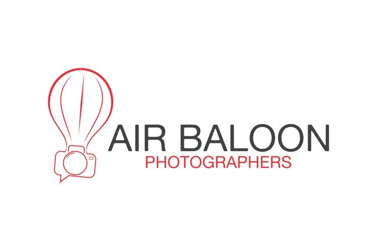 Air Baloon Photographer Logo example image 1