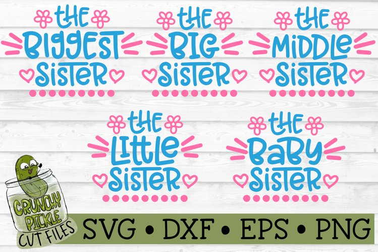 Sisters SVG Cut File