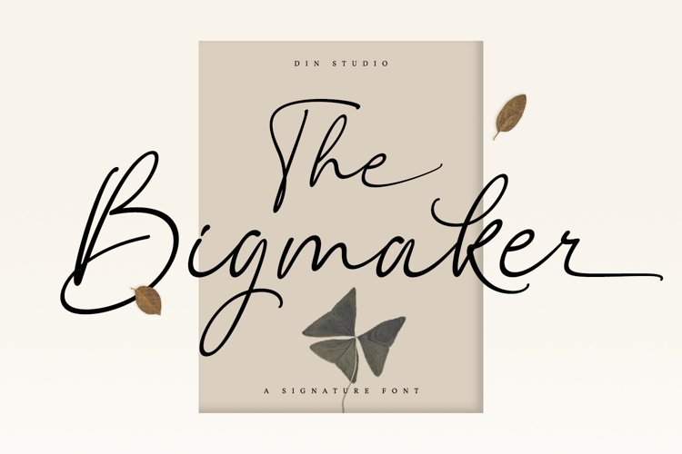 The Bigmaker example image 1
