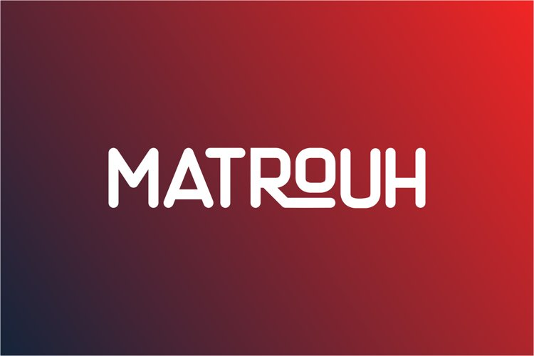 Matrouh Display font