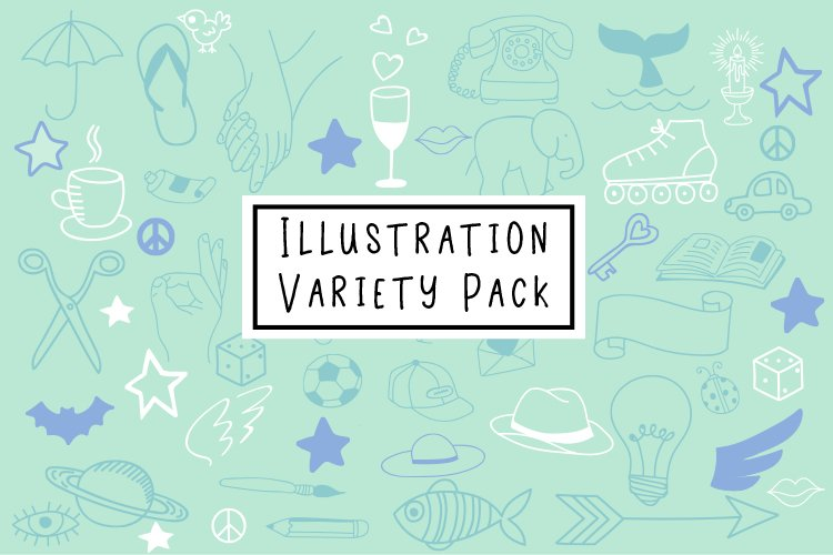 Illustration Variety Pack example image 1