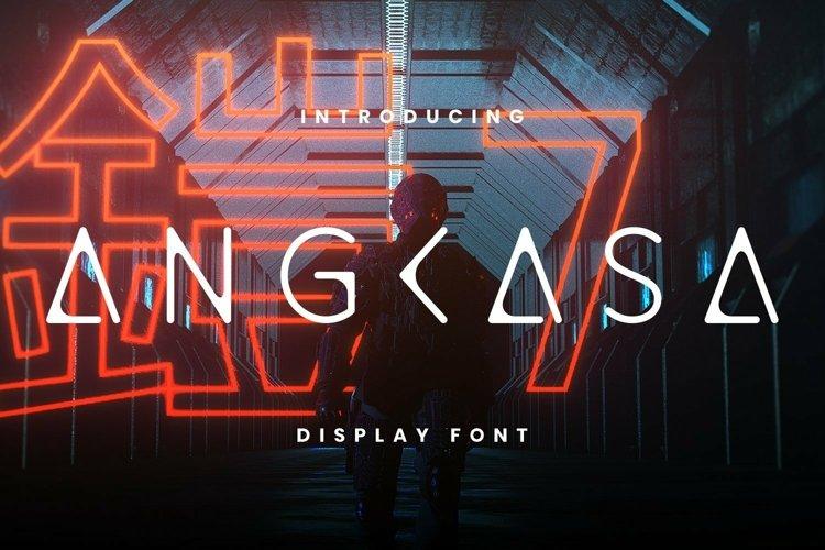 Web Font Angkasa Font example image 1