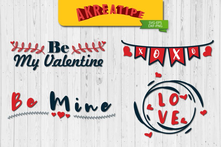 Valentine SVG Bundle|Valentine SVG|Sublimation|Cut File example image 1