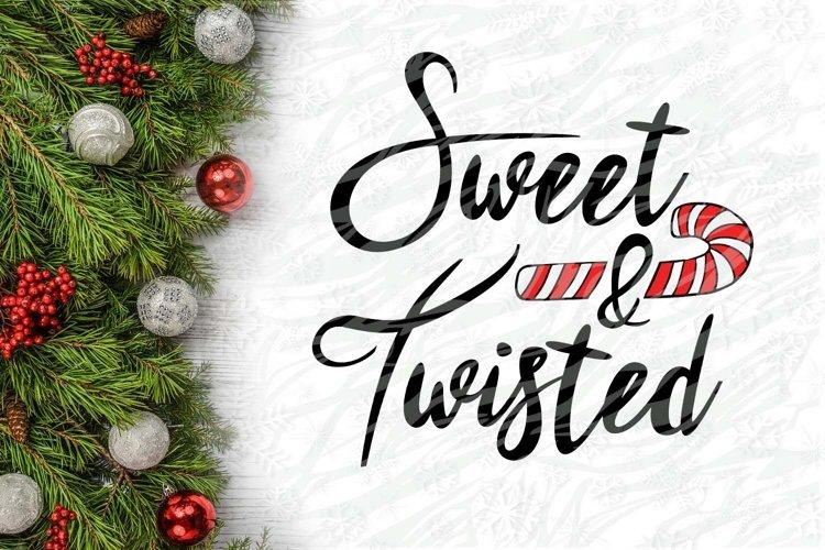 Sweet & Twisted Christmas Printable example image 1