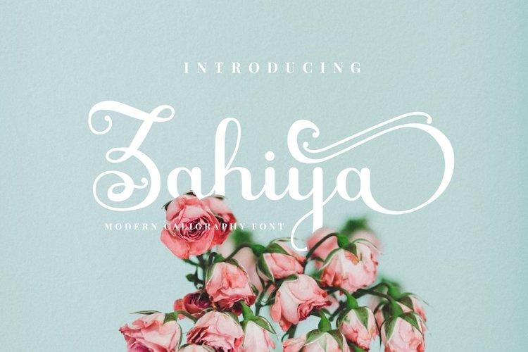 Zahiya example image 1