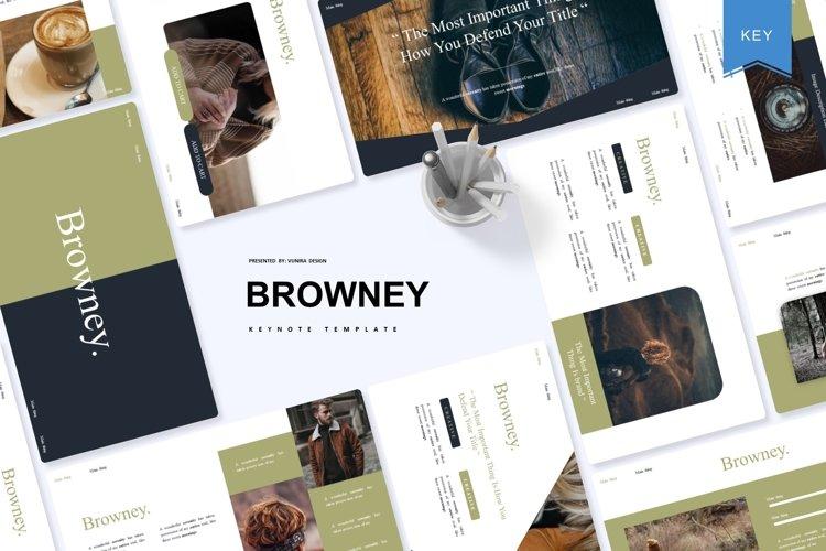 Browney   Keynote Template example image 1