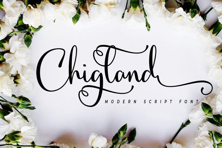 Chigland script example image 1