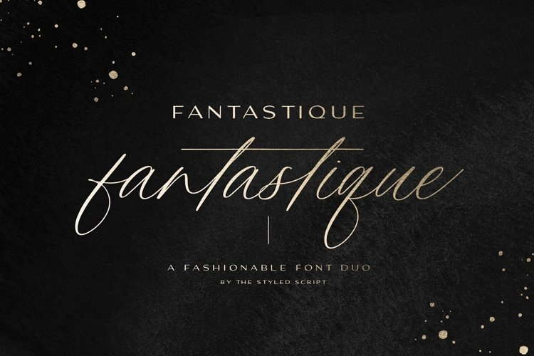 Fantastique Font Duo