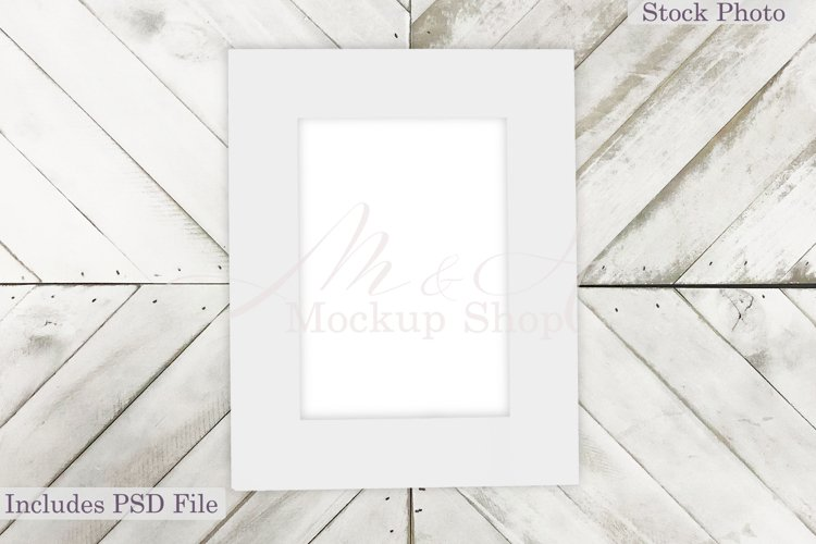 Farmhouse Frame Mockup, Country Frame Mockup, PSD Mockup example