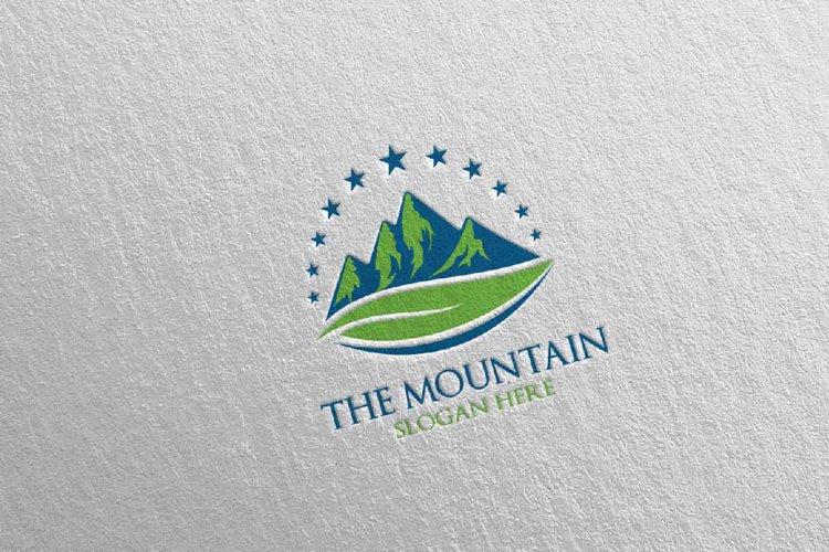 Mountain Logo Design 9 example image 1