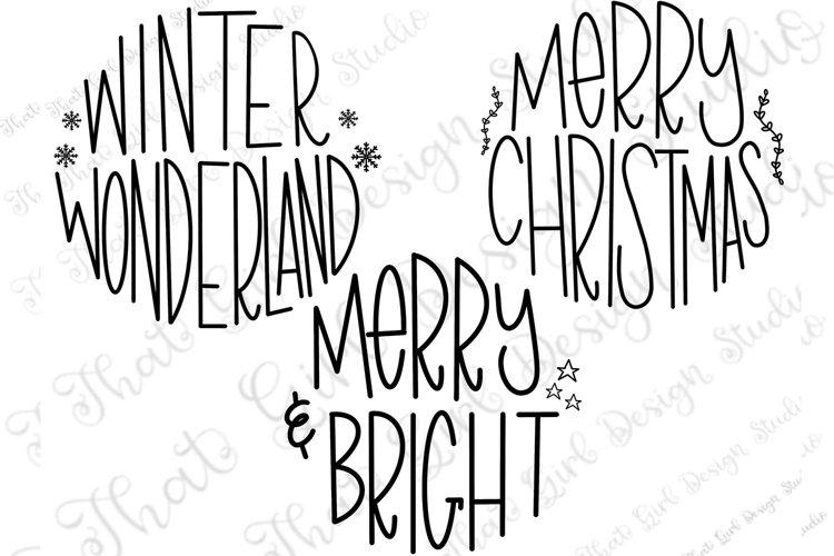 Christmas Ornament Round SVG Bundle