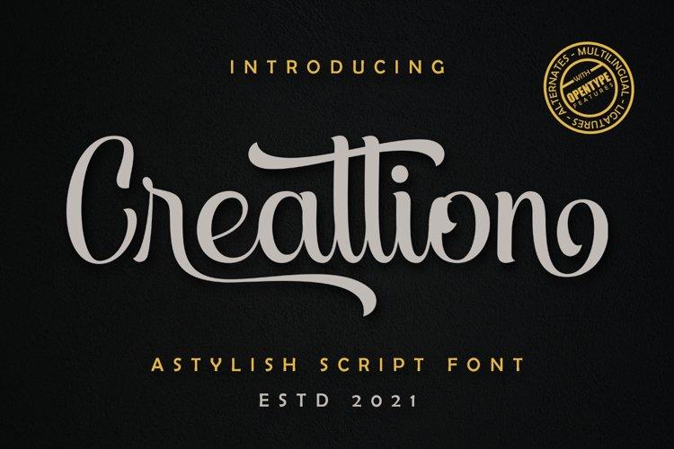 Creattion example image 1