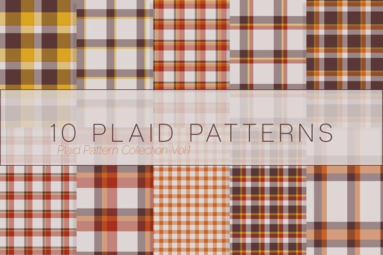 10 Plaid Patterns