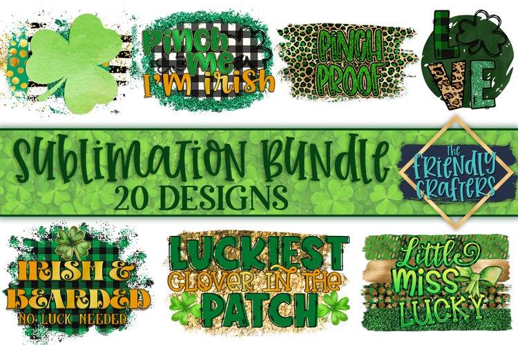 St. Patricks Day Bundle for Sublimation Printables