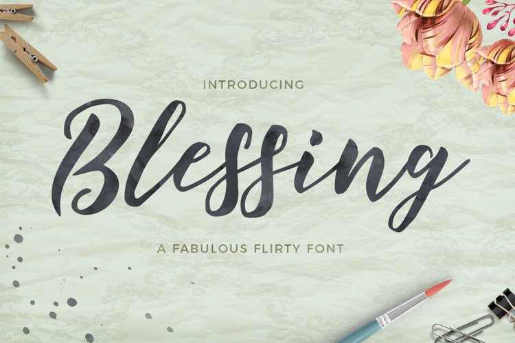 Blessing Script example image 1