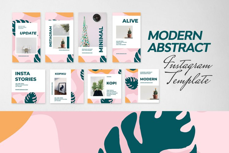 Minimal Abstract Instagram Template