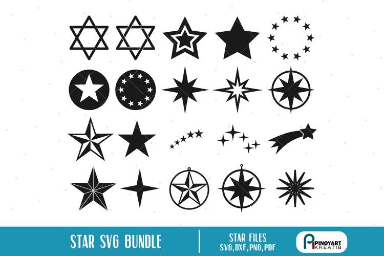 Star svg Bundle - star vectors example image 1