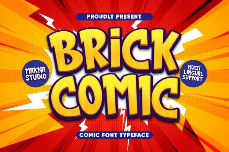 Brick Comic example image 1