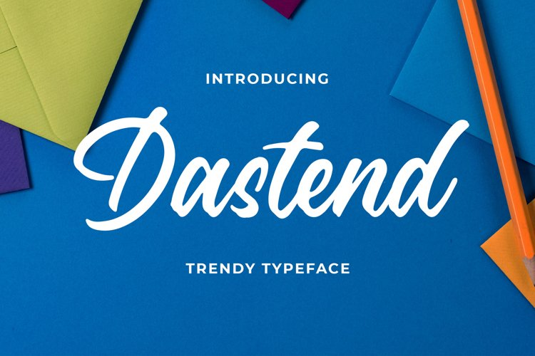 Dastend - Trendy Script Typeface example image 1