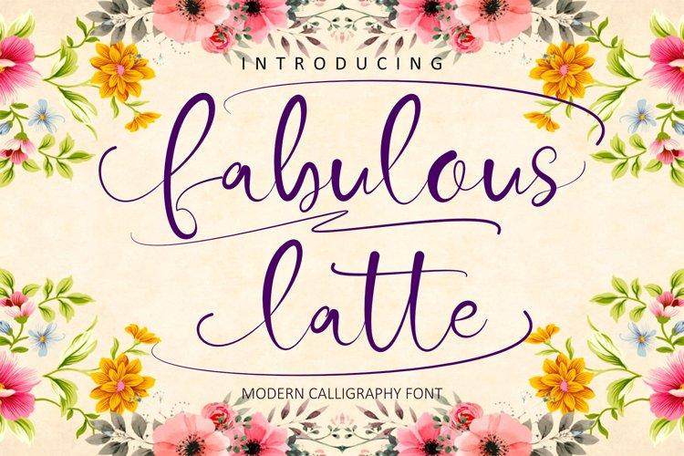 Fabulous Latte example image 1