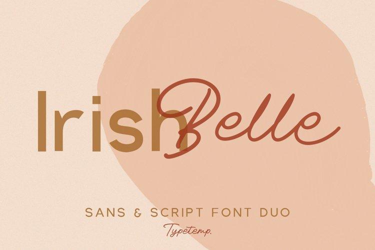 Irishbelle Font Duo