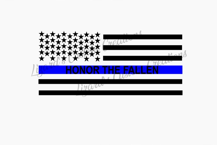 Honor the Fallen - Police example image 1