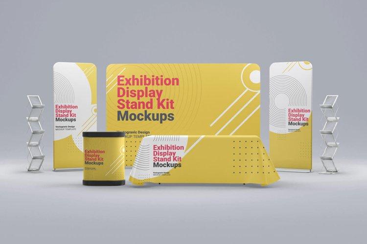 Exhibition Display Stand Kit Mockups