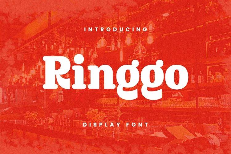 Web Font Ringgo Font example image 1