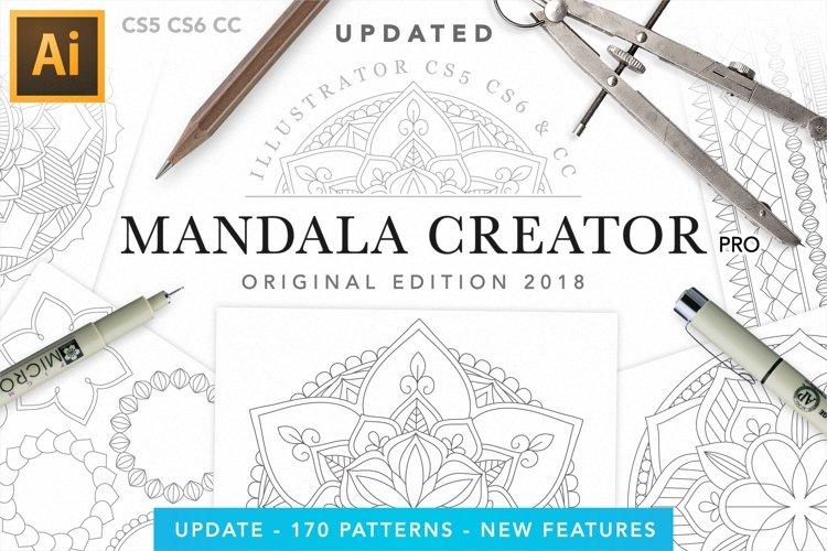 Vector Mandala Creator PRO for Illustrator example image 1