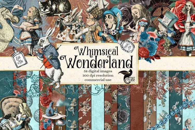 Whimsical Wonderland Alice In Wonderland Tea Party Graphics