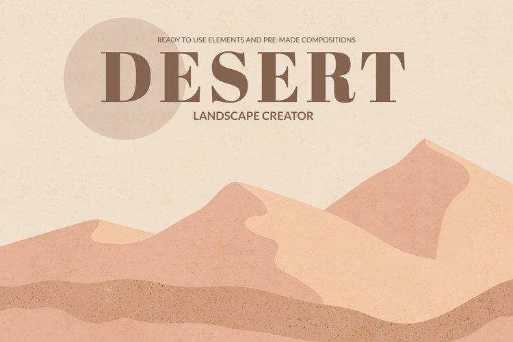 Desert Landscape Creator example image 1