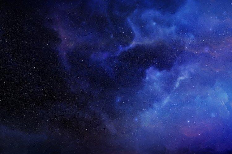 5 Realistic Nebula Backgrounds example 4