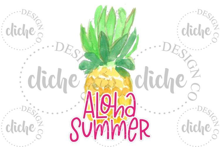 Summer Sublimation Design