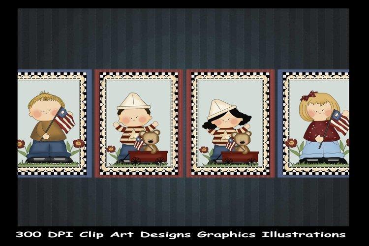 Clip Art Designs Graphics Illustrations example image 1