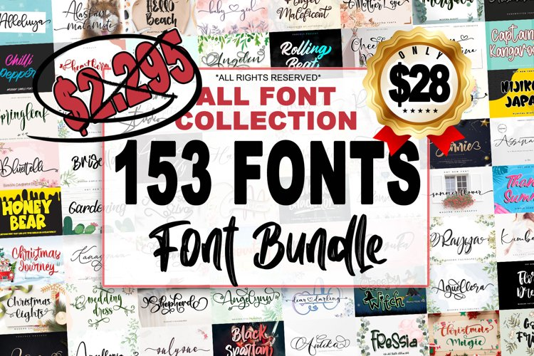 ALL FONT COLLECTION
