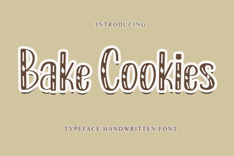 Bake Cookies example image 1