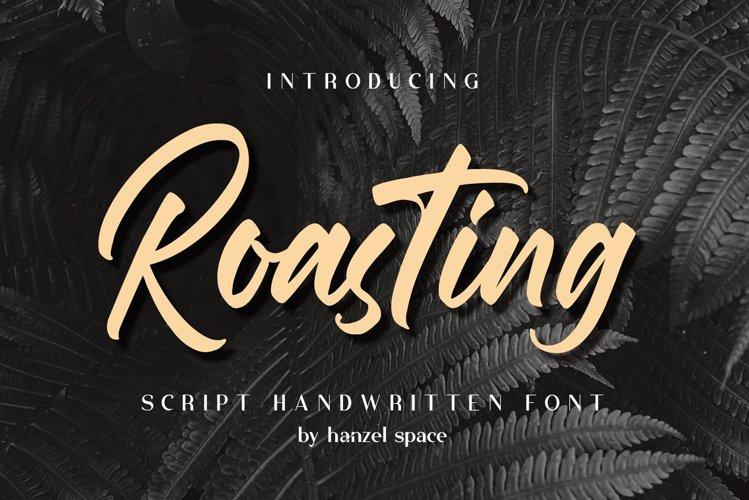 Roasting Script Handwritten Font