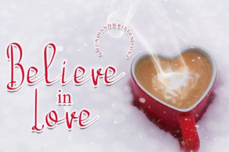 Believe In Love example image 1