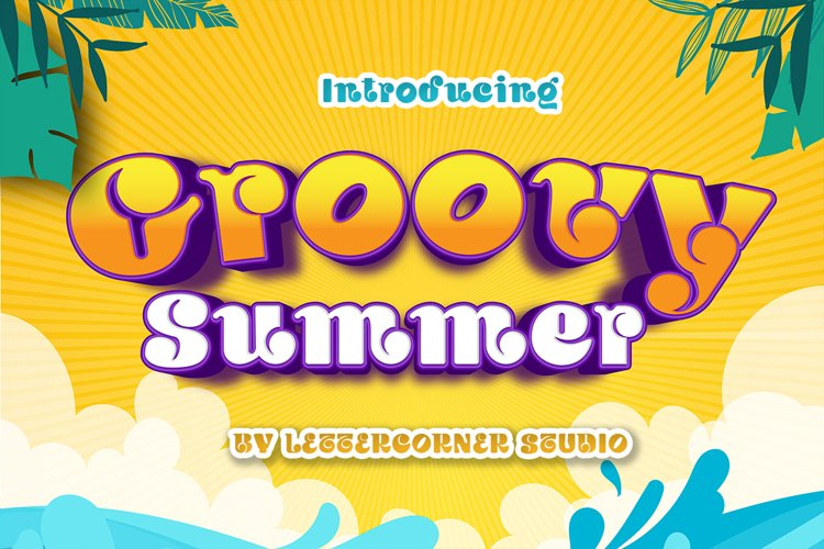 Groovy Summer Font example image 1