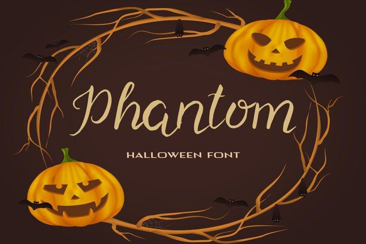 Phantom Halloween Font example image 1