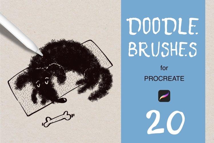 Doodle Procreate Brush Set.
