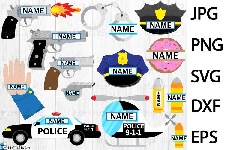 Fun Police - Clip art / Cutting Files 321c