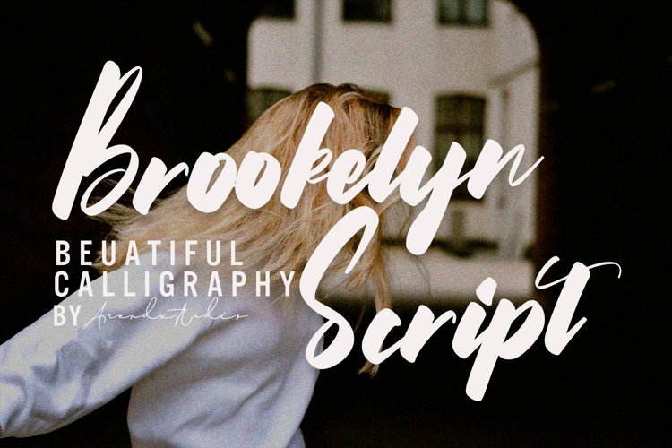 Brookelyn - Script Font example image 1
