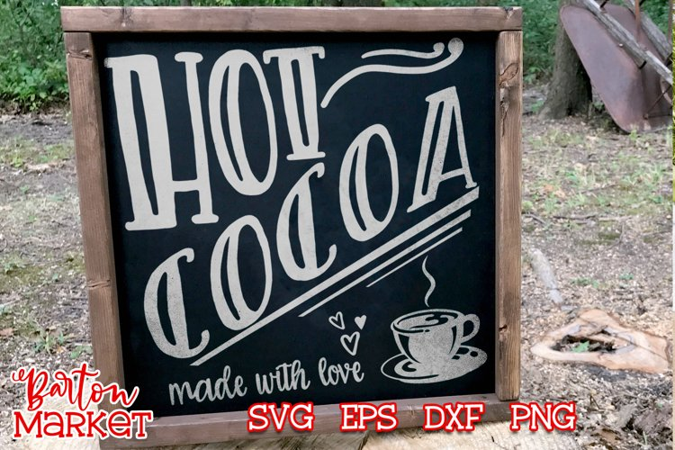 Hot Cocoa Made With Love for Crafters example image 1