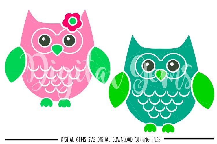 Owl SVG / PNG / EPS / DXF Files example image 1