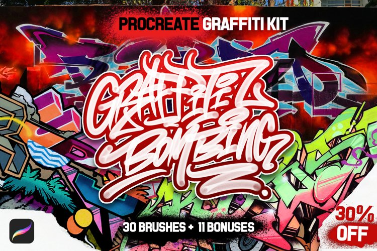 PROCREATE GRAFFITI BOMBING